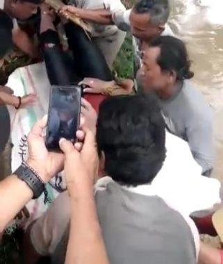 Diduga Terperosok Saat Memancing, Pria di Lampung Timur Ditemukan Tewas Mengambang di Aliran Sungai Way Sekampung