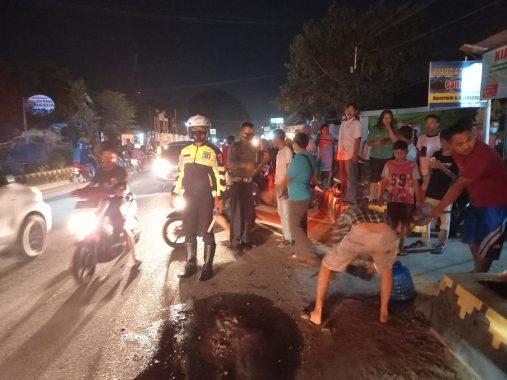 Seorang Pelajar Meninggal Kecelakaan di Jalan Imam Bonjol Kota Metro, Saksi Mata Sebut Karena Pengendara Hindari Lubang