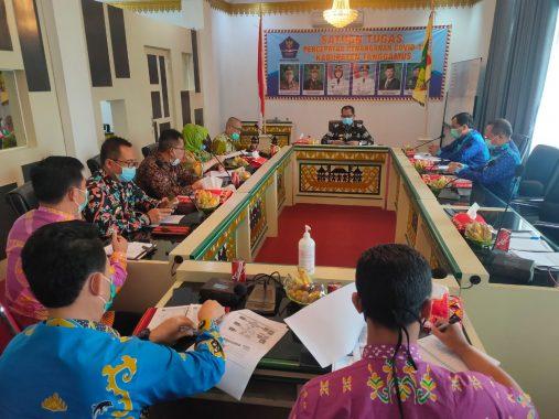 Wakil Bupati Tanggamus Terima Kunjungan BPKP Lampung
