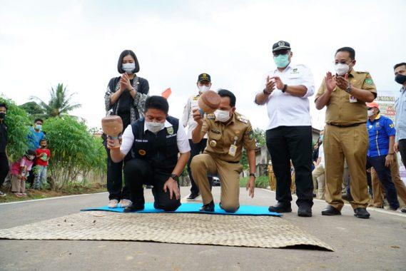 Gubernur Sumatera Selatan Herman Deru Resmikan 18 Kegiatan Infrastruktur Kota Prabumulih