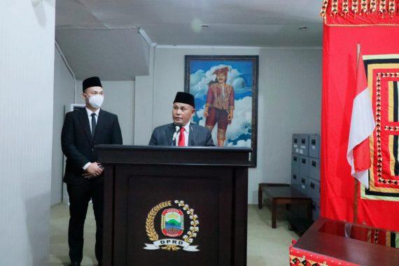 Nanang-Pandu Sampaikan Visi Misi di DPRD Lampung Selatan