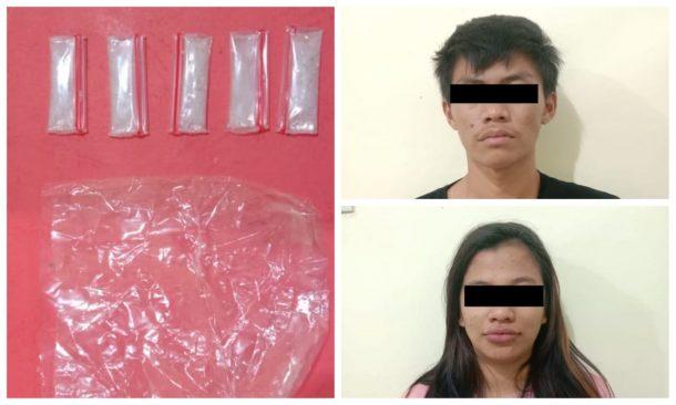 Polisi Amankan Sepasang Kekasih Terduga Pengedar Narkoba di Metro