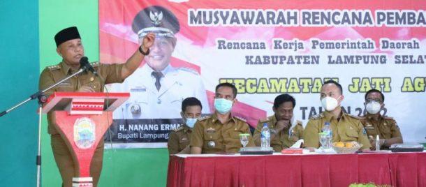 Pemkab Lampung Selatan Gelontorkan Anggaran Rp46 Miliar di Jati Agung