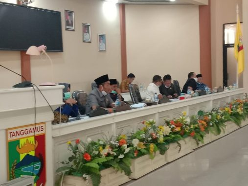 Komisi I DPRD Tanggamus Gelar Hearing, Ini Rekomendasinya Agar Suasana di Masyarakat Aman dan Kondusif