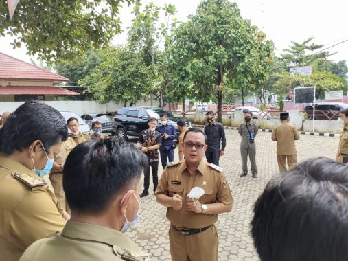 Pemkab Lampung Tengah Siapkan Sanksi Pelanggar Protokol Kesehatan