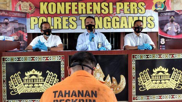 Jadi DPO, Mantan Kepala Pekon di Pematang Sawa Ditangkap Polres Tanggamus dalam Kasus Penipuan