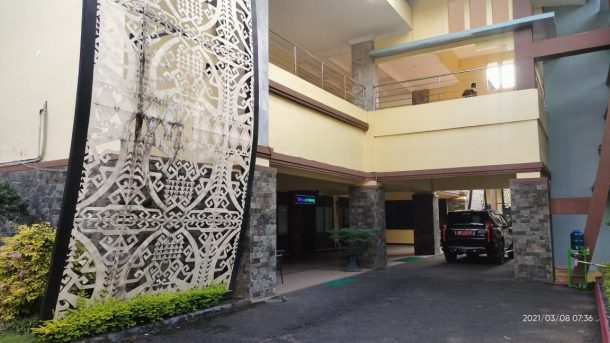 Mantan Wali Kota Metro Lukman Hakim Kritik Kondisi Kantor Wali Kota yang Kusam Tidak Terawat