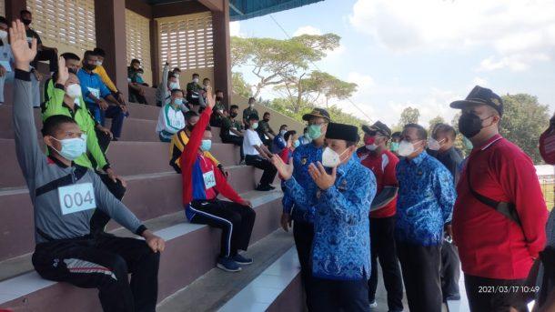 Wali Kota Metro Instruksikan Pembenahan Sarana dan Prasarana Olahraga