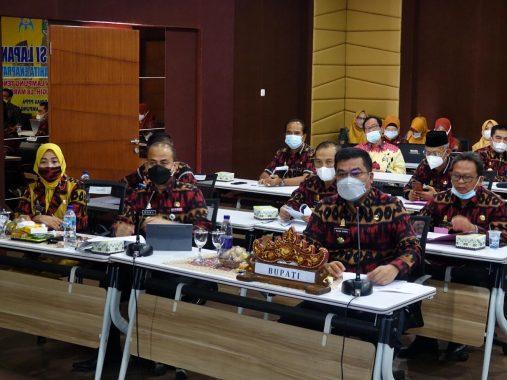 Ikuti Verifikasi Lapangan Anugerah Parahita Ekapraya, Bupati Lampung Tengah Berharap Raih Prestasi Seperti 2018