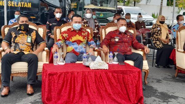 Nanang Ermanto Hadiri Pencanangan WBK WBBM Kejari Lampung Selatan