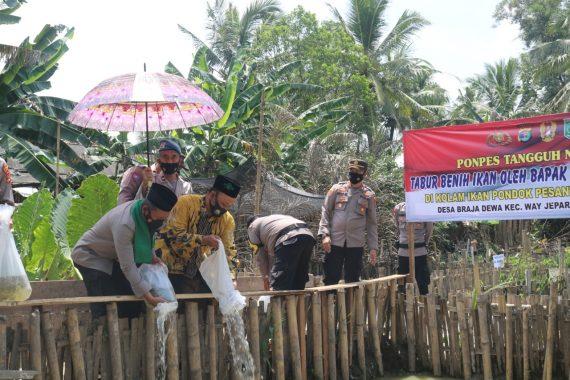 Wakapolda Lampung Luncurkan Pondok Tangguh Nusantara di Lampung Timur
