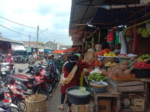 Tak Ada Lonjakan Pengunjung di Pasar Kotaagung Jelang Ramadan