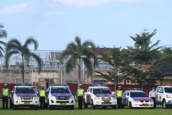 Jelang Ramadan, 150 Personel Gabungan Polres Lampung Timur Gelar Operasi Krakatau