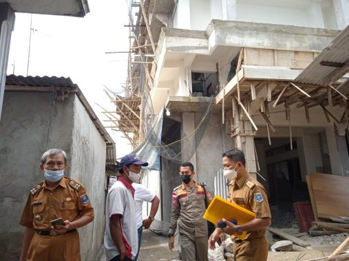Polemik Gedung Tiga Lantai Raden Sumatera yang Tidak Dapat Izin Pemkot Metro Berlanjut