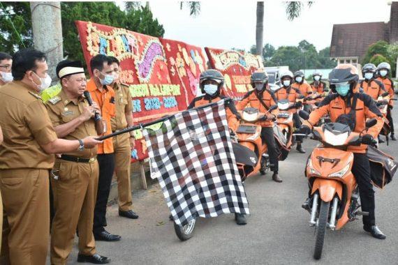 Pemkab Lampung Timur Launching Kerja Sama Pelayanan Publik Disdukcapil-PT Pos Indonesia