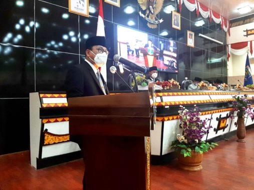 LKPJ Wali Kota Metro 2020, DPRD Gelar Rapat Paripurna Ke-11