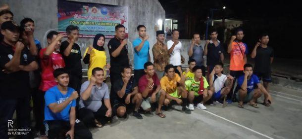 DPC GANN Tanggamus Sosialisasi Bahaya Penyalahgunaan Narkoba di Pekon Penanggungan
