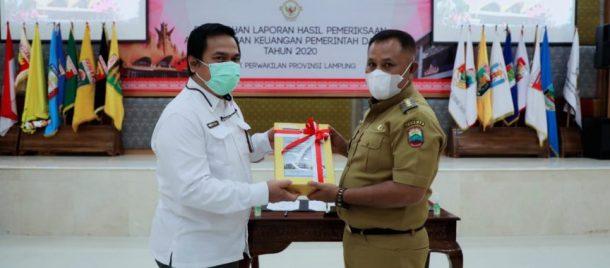 Lampung Selatan Kembali Raih WTP Lima Kali Berturut-turut