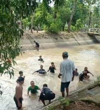 Bocah Empat Tahun Ditemukan Meninggal di Saluran Irigasi Rejomulyo Koa Metro