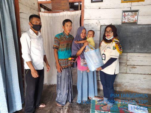 IPSM Lampung dan LKS Alamanda Tanggamus Kunjungi Keluarga Prasejahtera di Empat Kecamatan