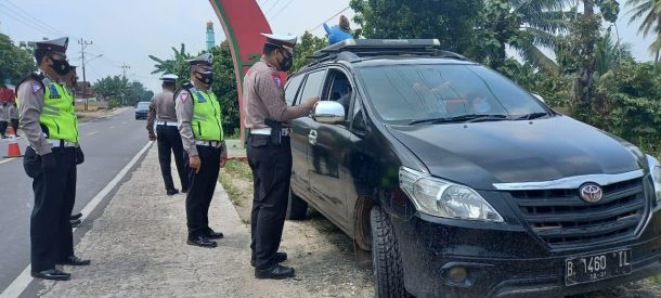 Hari Kedua Operasi, Satlantas Polres Tanggamus Periksa 318 Kendaraan