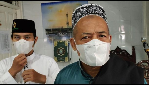 Salat Idul Fitri di Masjid Al-Falah Metro, Pengurus Terapkan Protokol Kesehatan