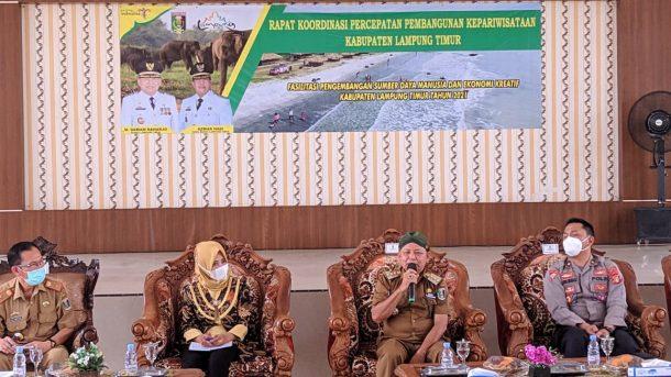 Pemkab Lampung Timur Tekankan Percepatan Pembangunan Destinasi Wisata