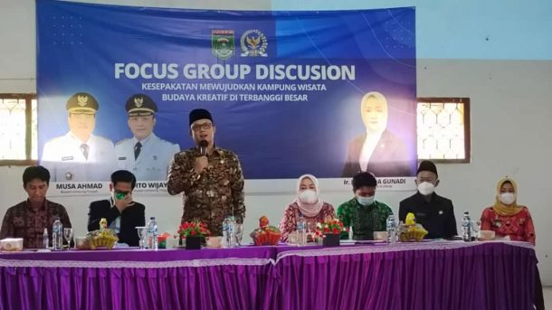 Pemkab Lampung Tengah Siapkan Terbanggi Besar Sebagai Kampung Wisata Budaya