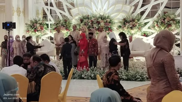 Resepsi Pernikahan di Hotel Aidia Grande Metro, Tak Ada Pengawasan Satgas Covid-19