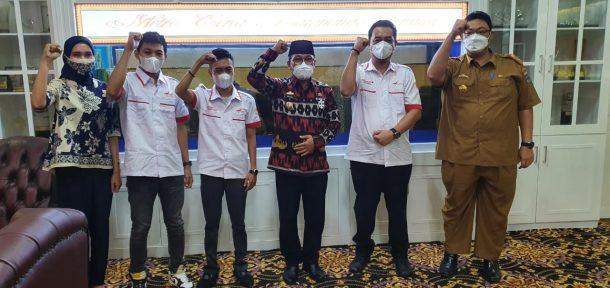 Pengurus Esport Indonesia Kota Metro Audensi dengan Wali Kota, Bakal Kenalkan Games Sudah Masuk Olahraga Prestasi