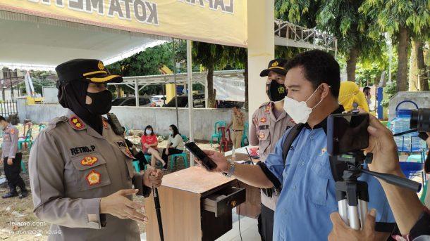 Satgas Covid-19 Kota Metro Bakal Door to Door Jalankan Program Vaksinasi
