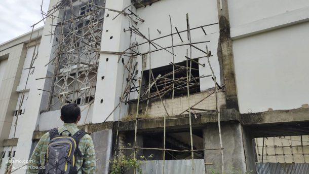 Gedung GAC IAIN Metro Mangkrak, Konsultan Metro Ragukan Laporan PT Mitra Plan