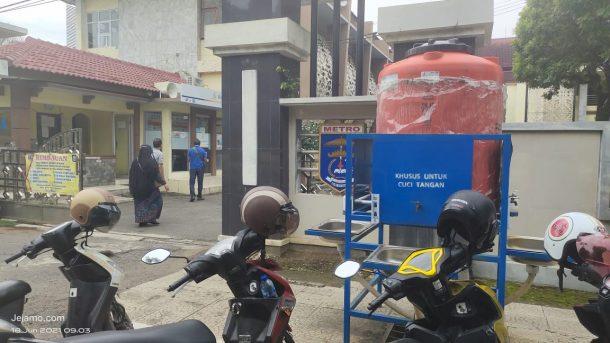 Metro Zona Merah Covid-19, Fasum Cuci Tangan Pemkot Justru Kosong