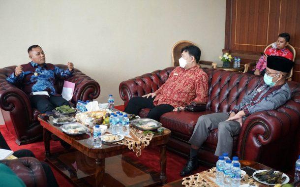 Perkuat Koordinasi Terkait Pelayanan Masyarakat, Anggota Ombudsman RI Sambangi Pemkab Lampung Selatan