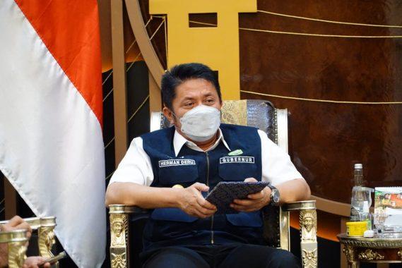 Gubernur Sumsel Herman Deru: Event Palembang Triathlon 2021 Harus Tonjolkan Kearifan Lokal