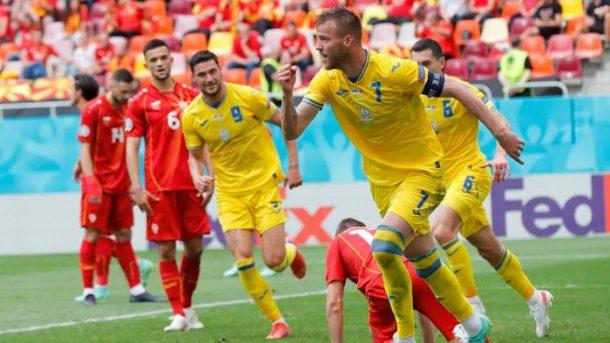 Kalahkan Makedonia Utara, Ukraina Jaga Asa Lolos Babak 16 Besar Piala Eropa 2020