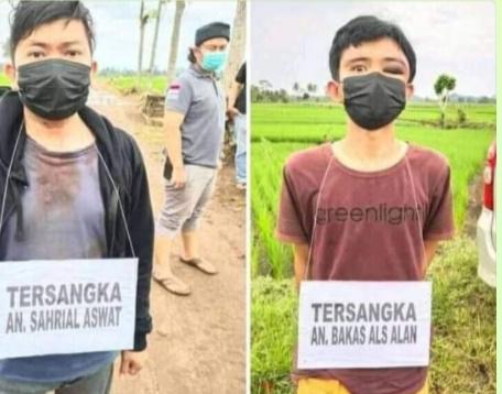 Polisi Tangkap 2 Tersangka Pembunuhan Korban dengan 19 Tusukan di Tanggamus