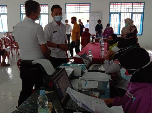 Rutan Kotabumi Gelar Vaksinasi Covid-19 untuk 200 Warga Binaan