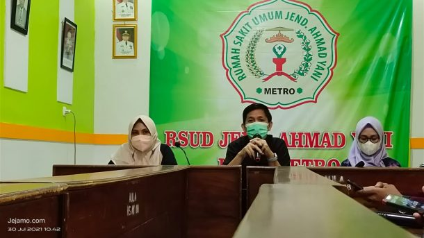 Viral Penolakan Pasien, Direktur RSUD Ahmad Yani Metro Dilema Lantaran Stok Oksigen Kosong