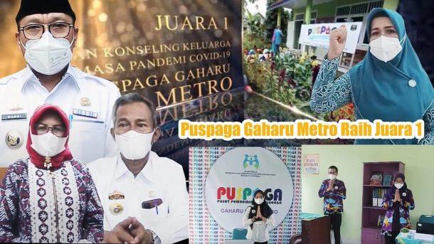 Puspaga Gaharu Kota Metro Raih Juara Pertama, Terbaik dari 188 Peserta Seluruh Indonesia