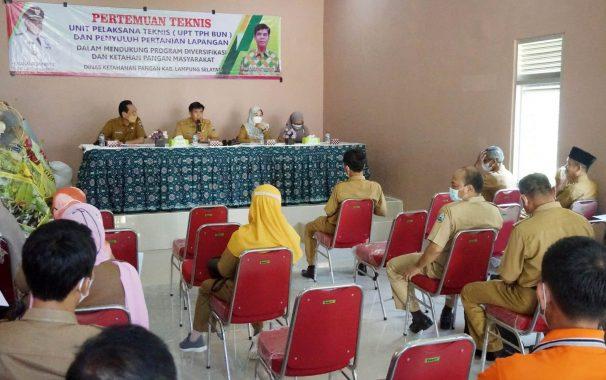 DKP Lampung Selatan Gelar Pertemuan Teknis, Data Akurat Stok Pangan Jadi Fokus Pembahasan