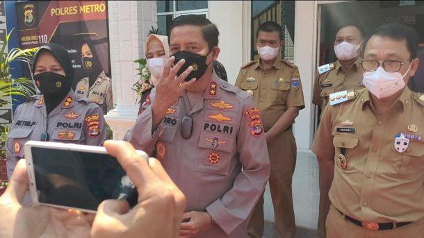 Kapolda Lampung Apresiasi Tingkat Kepatuhan Protkes Capai 93,5 Persen