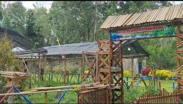 Prospektif! Gapoktan Jaya Lestari Tanggamus Dirikan Wisata Edukasi Lebah Madu Trigona