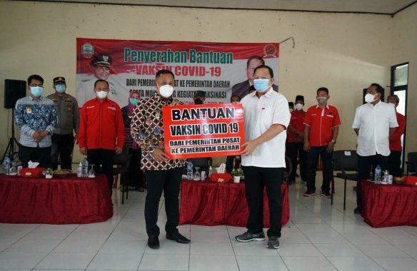Lampung Selatan Terima Bantuan 500 Dosis Vaksin Covid-19