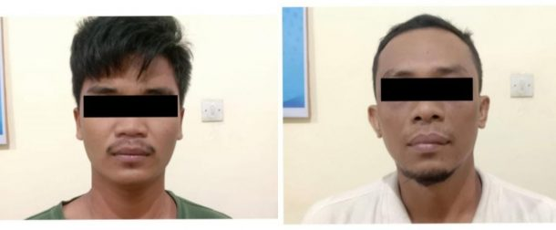 Usai Belanja Sabu di Tegineneng, Dua Orang Ini Ditangkap Satresnarkoba Polres Metro