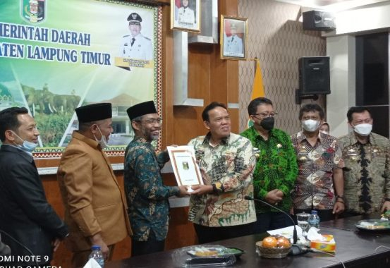 Azwar Hadi Titip Proposal Pengembangan Wisata Lampung Timur ke Sandiaga Uno lewat Abdul Hakim