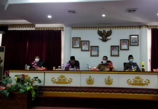 Abdul Hakim Paparkan Konsep Gerakan Desa Emas ke Wakil Bupati Tanggamus AM Syafii