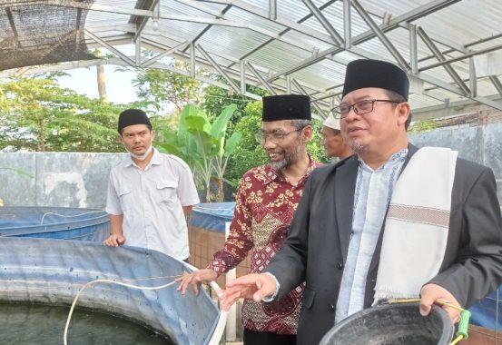 Abdul Hakim Terkesan dengan Pengelolaan Ponpes Terpadu Ushuluddin Pimpinan KH Ahmad Rafiq Udin