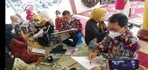Advertorial: Dekranasda Metro Patenkan Batik Ciprat Silabi