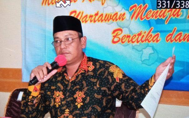 Sambangi Pesawaran, Nizwar-Elkana Sampaikan Niat Pimpin PWI Lampung